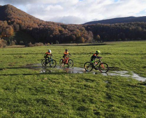 Escursioni Parco Nazionale d'Abruzzo in Mountain Bike